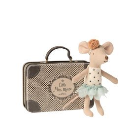 Maileg Little miss mouse in suitcase - Little sister
