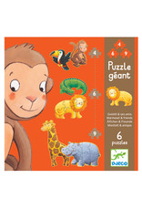 Djeco Giant Puzzle - Ouistitii And Its Friends