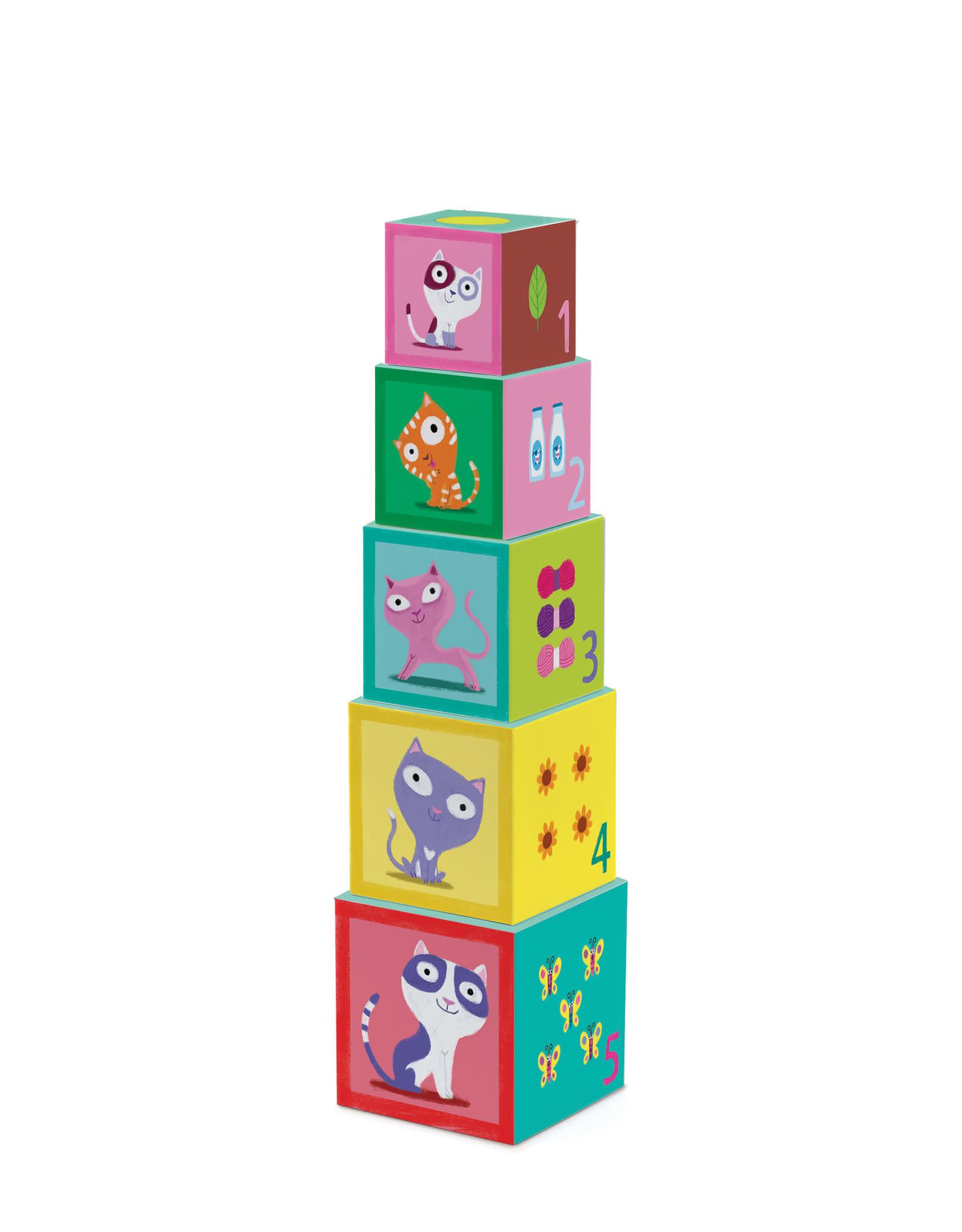Djeco Stacking Blocks - Catibloc