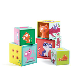 Djeco Stacking Blocks - Catibloc