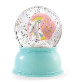 Djeco Boule à neige - Licorne