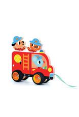 Djeco Pull along Toy - Terreno Truck