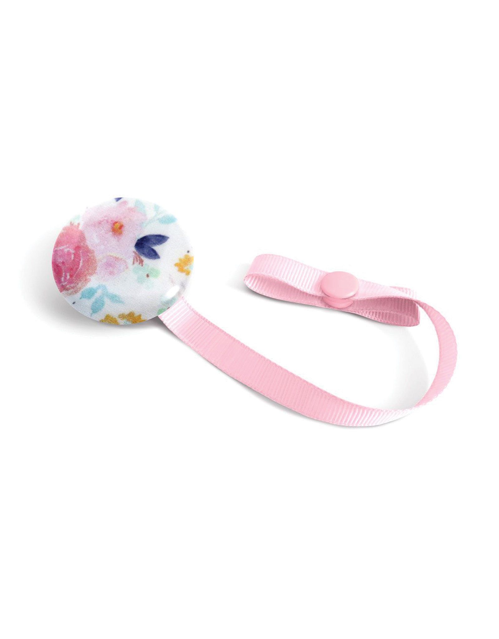 Loliko Pacifier Clip - Loliko - Pink Flowers