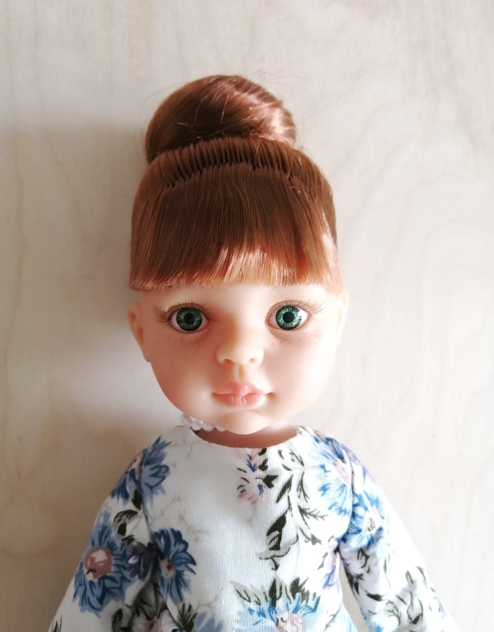 Paola Reina Las Amigas Doll - Ana with blue and white jumper