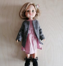 Paola Reina Las Amigas Doll - Carla with pink dress