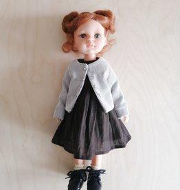 Paola Reina Las Amigas Doll - Christi with brown dress