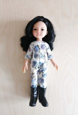 Paola Reina Las Amigas Doll - Liu with blue and white jumper