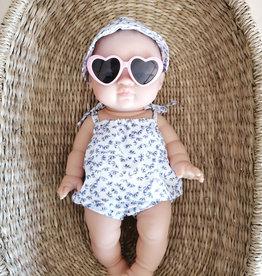 Paola Reina Sunglasses -  Pink Heart Shaped