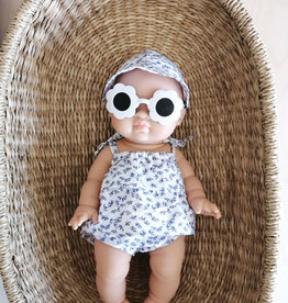 Paola Reina Sunglasses - Flower Shaped White
