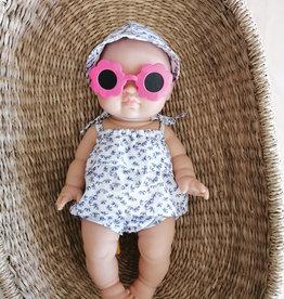 Paola Reina Sunglasses -  Fushia Flower Shaped
