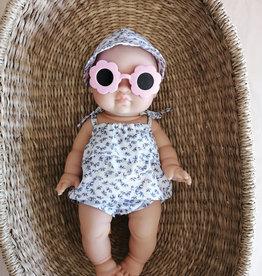 Paola Reina Sunglasses - Pale Pink Flower