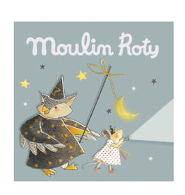 Moulin Roty Torchlight Story Discs - Grey Once Upon A Time