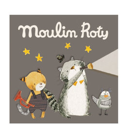 Moulin Roty Torchlight Story Discs - The 'Moustaches'