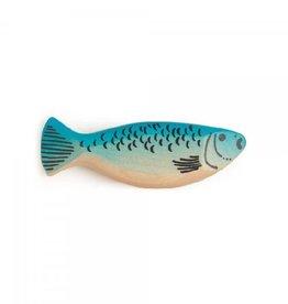 Erzi Poisson bleu en bois