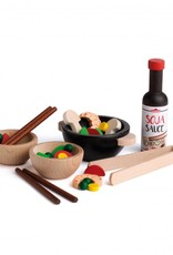 Erzi Wooden Assortment - Asia Party