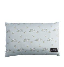 maovic Pillow For Children - Buckwheat Hulls - Blue Flower