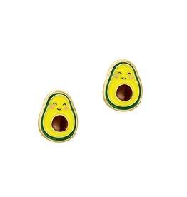 Girl Nation Boucles d'oreilles en émail - Avocat