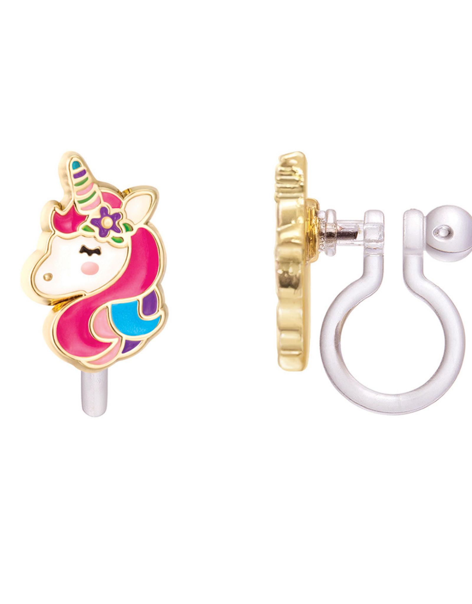 Girl Nation Clip-On Earring - Unicorn