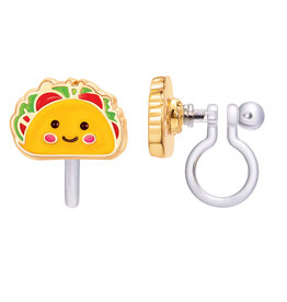 Girl Nation Clip-On Earring - Taco