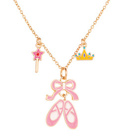 Girl Nation Charming Whimsy Necklace - Ballet Shoe