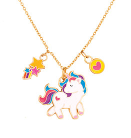 Girl Nation Charming Whimsy Necklace - Unicorn