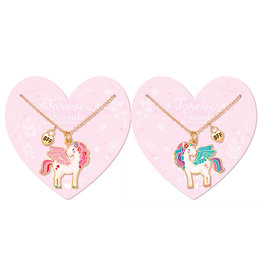 Girl Nation Collier fantaisie d'amitié - Licorne