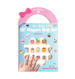 Girl Nation Fingers Nail Art - Sweet Shop