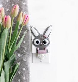 Veille sur toi Nightlight - Rabbit - Marguerite
