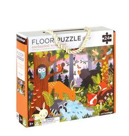 Petit Collage Floor puzzle - Enchanted woodland 3+