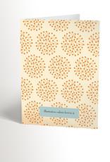 Valérie Boivin Illustrations Carte de souhaits - Chat qui fait tomber un gâteau