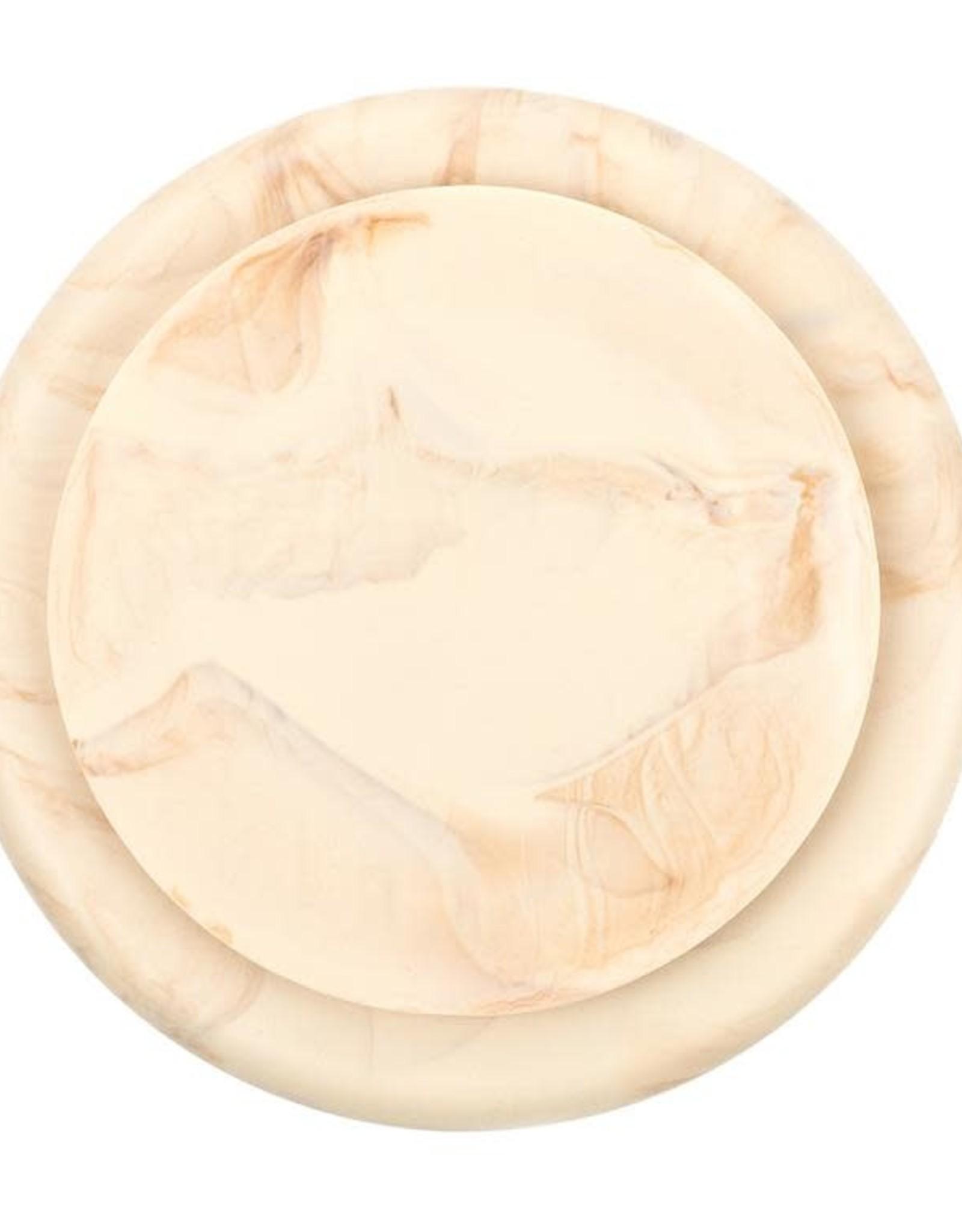 Bella Tunno Assiette silicone imitation bois