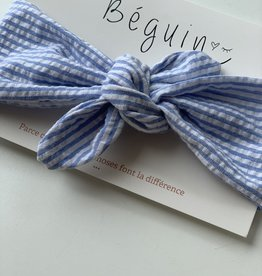 Béguin Headband To Tie - Sailor 0-5 Years