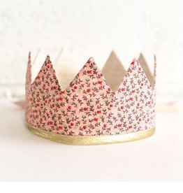 Fancy Little Day Pink Flowers Crown