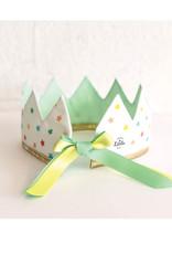 Fancy Little Day Couronne mini étoiles multicolores vert menthe