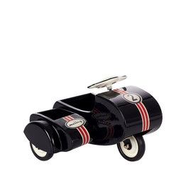 Maileg Metal Black Scooter With Sidecar For Mouses