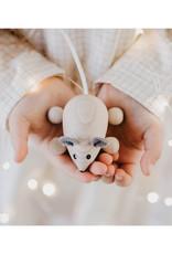 Sarah and Bendrix Natural Small Wooden Mouse