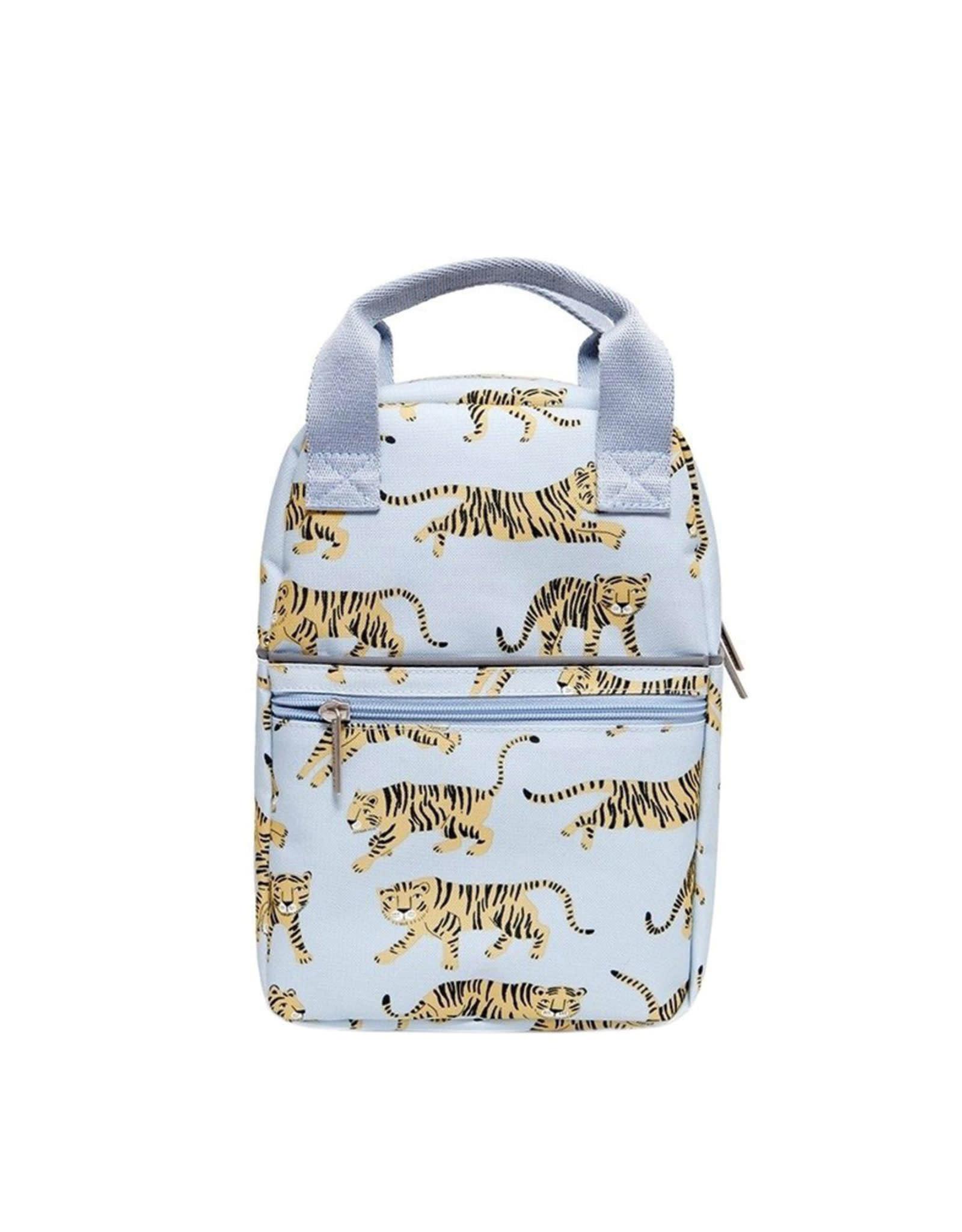 Petit Monkey Backback - Grey Tiger Small