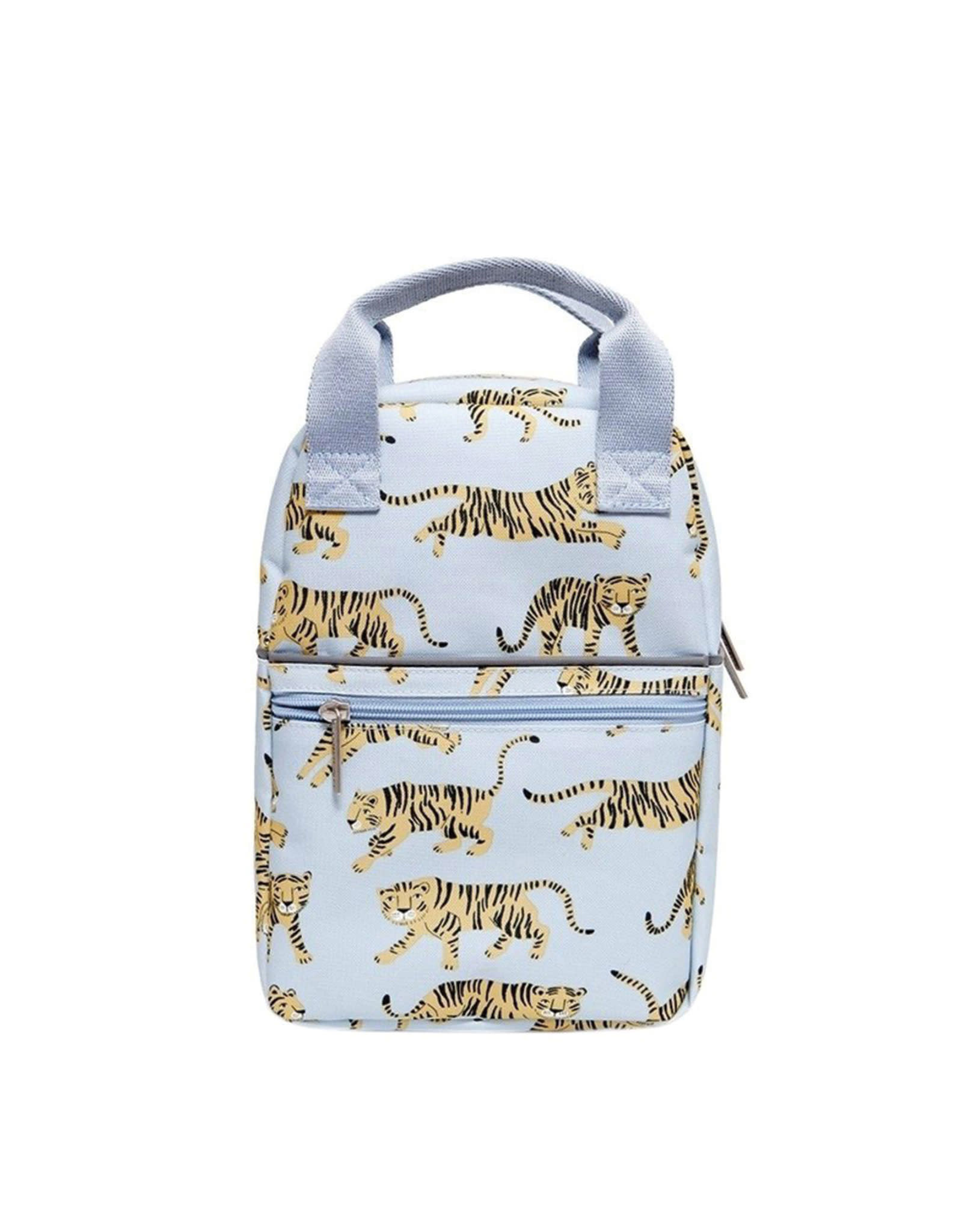 Petit Monkey Backback - Grey Tiger