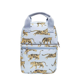 Petit Monkey Backback - Grey Tiger Small