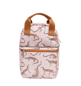 Petit Monkey Backpack - Leopard Gecko Pink