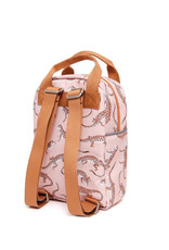 Petit Monkey Backpack - Leopard Gecko Pink Small