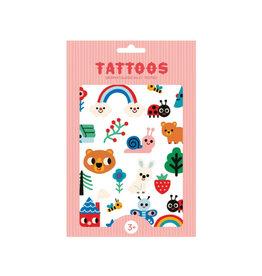 Petit Monkey Tattoos - Nature Friends