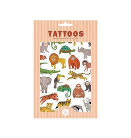 Petit Monkey Tatouage - Animaux de la jungle