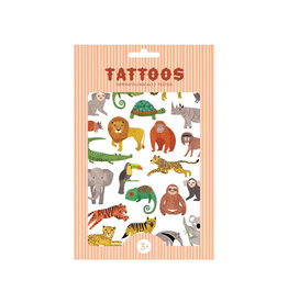 Petit Monkey Tattoos - Jungle Animals