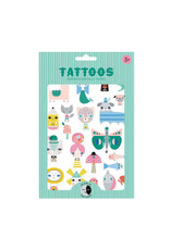 Petit Monkey Tattoos - Leopard Glow In The Dark