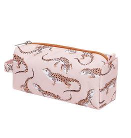 Petit Monkey Étuis à crayons - Gecko leopard rose