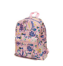 Petit Monkey Backpack - Under The Sea Pink
