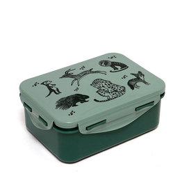 Petit Monkey Contenant à aliments - Animaux sauvages vert