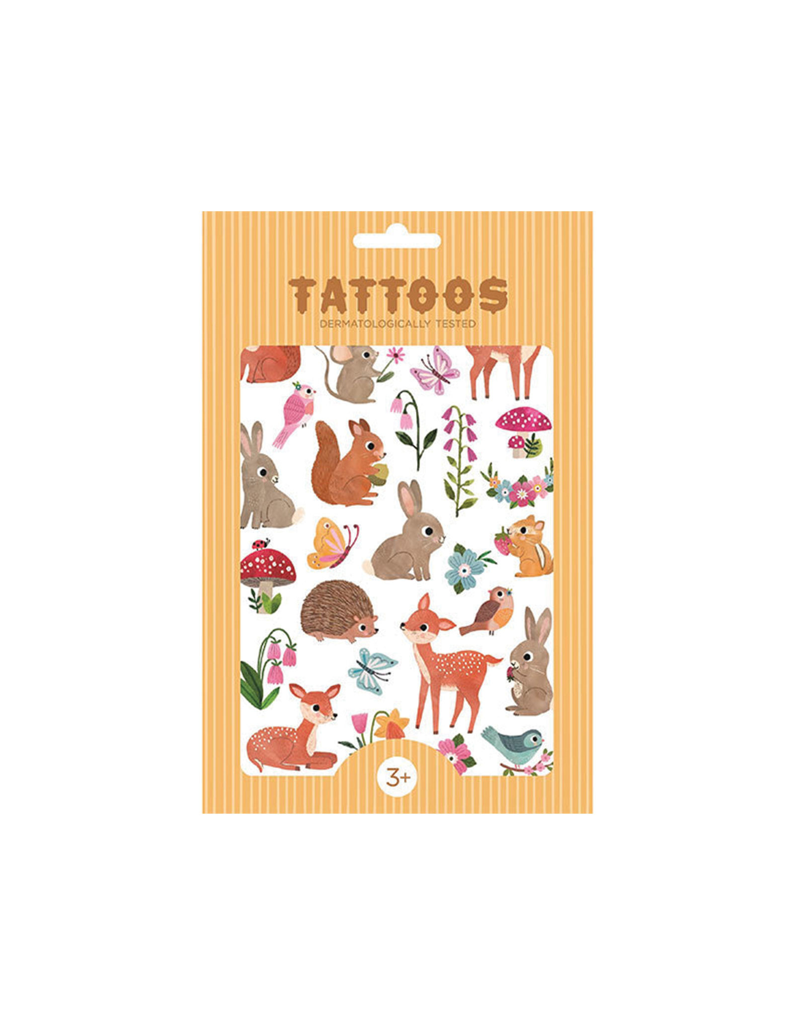 Petit Monkey Tattoos - Woodland Friends