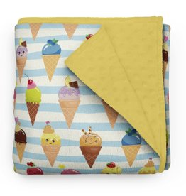 Olé Hop Minky Blanket - Sweet Ice Cream